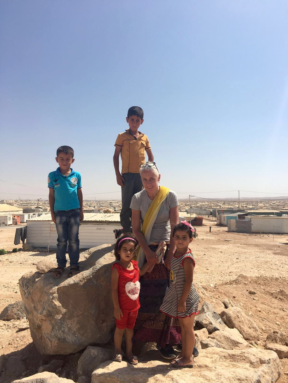 50% of people living in Za'atari are children