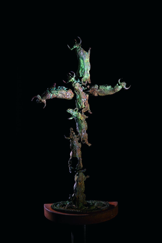 Una sombra de cruz