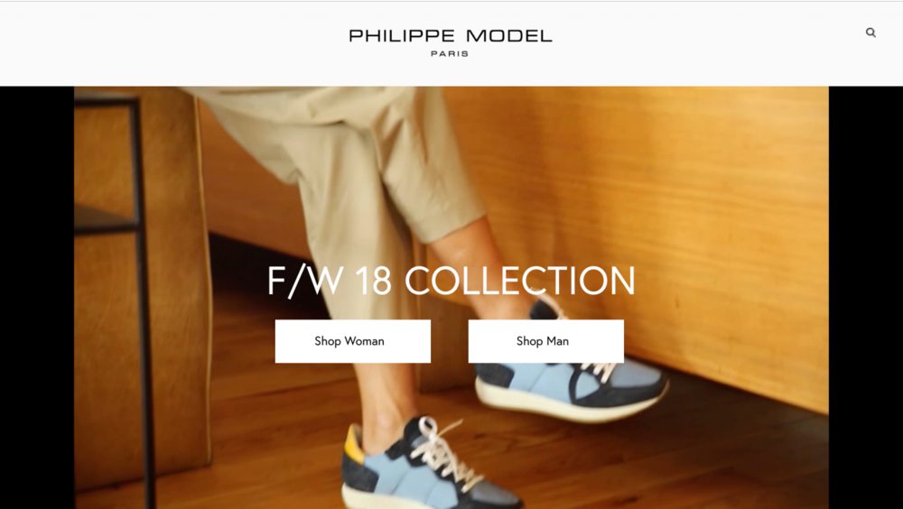 Philippe Model, Paris   Digital Acquisition Strategy - Across Europe