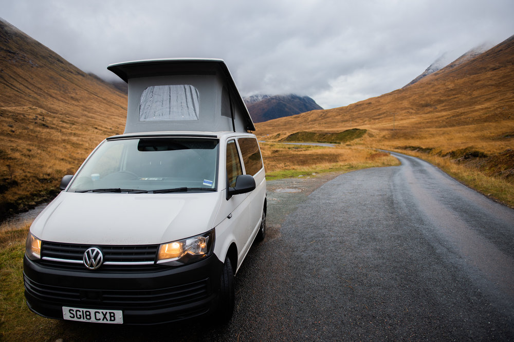 Campervan Hire Scotland - Freedom Campervans