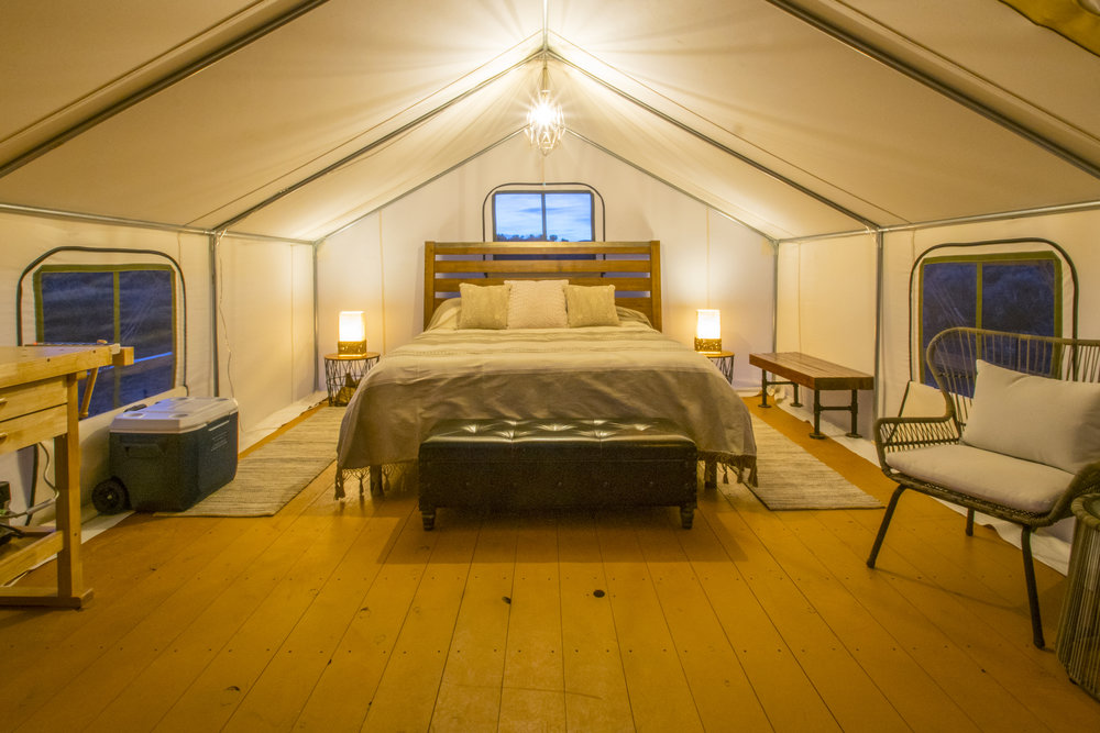 The Powell Tent -