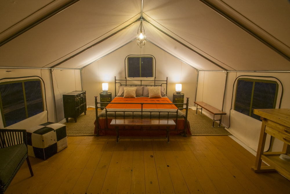 The Hayduke Tent -