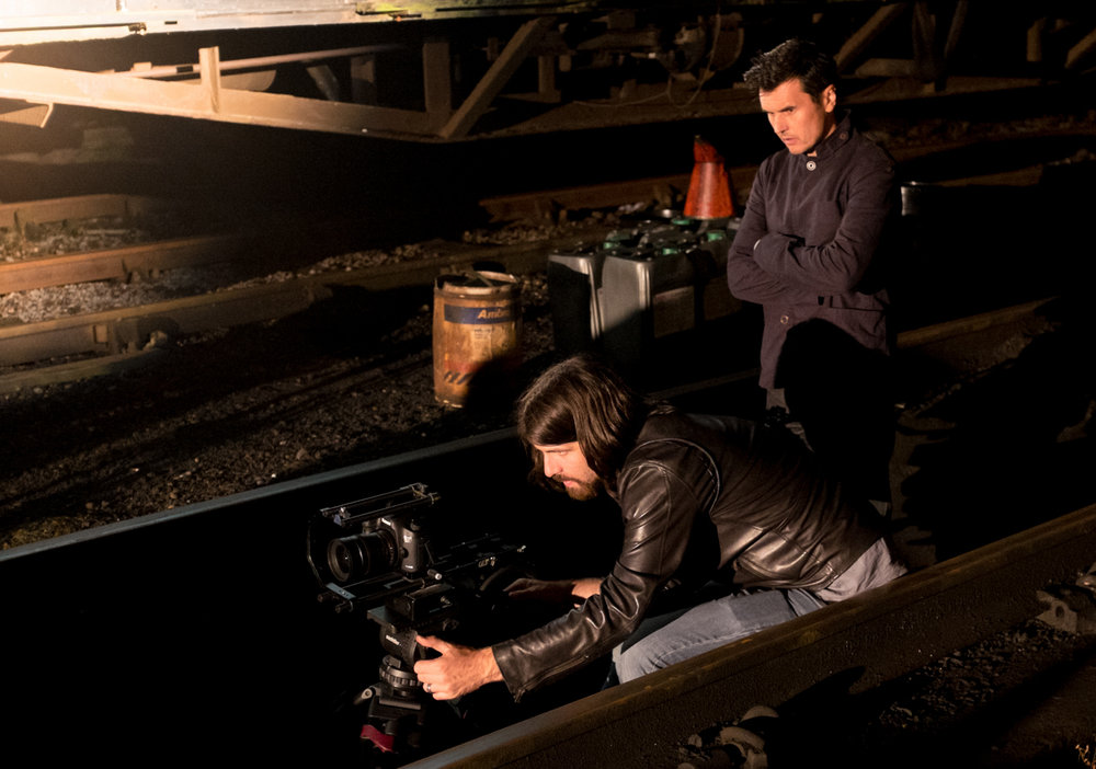 - Directing a promo for Public Service Broadcasting with Cinematographer Andrew Rodger.