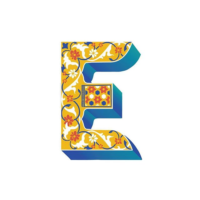 #36daysoftype #36days_e #36daysoftype06  Day 5, Letter E Born and brought up in Delhi, I've been deeply fascinated by the Mughal Architecture sprawled across the city.  It's beautiful how cultural unity can create a lasting legacy as Islamic, Persian, Turkish and Indian aesthetics come together to create the magnificent wide domes, ornate wall carvings and intricate patterns. 36 days of type, this year for me is an attempt to go back to the era when Mughal rule in India witnessed these grand structures that stand tall even today in the heart of India.  #mughal #architecture #unity #letter #handmadefont #thedailytype #graphicdesigncentral #india #wallcarvings #floral #persian #turkish #design #art #contest #instagood #delhi #gurgaon #draw #procreate #adobe #ornate #weekend #36days_adobe #contest #weekend