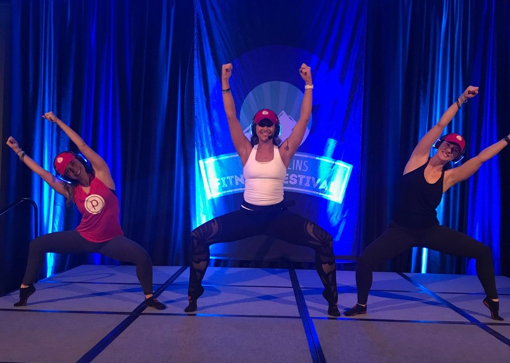 Paige and her team from Pure Barre Fort Collins had our legs shaking at the Fitness Festival Events Night with SoundOff!