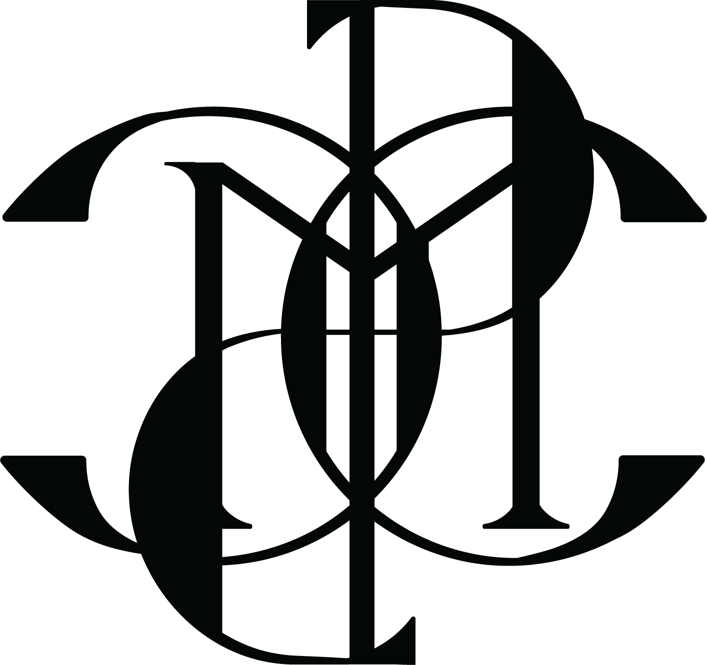 Bespoke Monograms - Michael Coyne Design Detroit