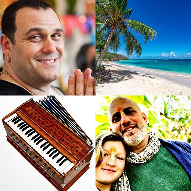 ❤️This just in!!! ❤️BAHAMAS! May 16-20th  2019. Me and my favorite Kirtan singer and friend Gaura Vani & guests are doing a retreat in the Bahamas at the @sivanandabahamas ashram. We call it a family reunion. Kid friendly. Cheap flights direct flights to Nassau from NY and reasonable accommodations!! Let's do this! Kirtan and sangha at the beach!!! I'm so excited!!whos in???? Bring the kids! For more info call : 1-866-559-5167 X139  #gauravanimusic #kirtanfamily #bhaktifamily #raghunathyogi #yogabahamas #kirtaneverydamnday #mantramusic #sacredsangha