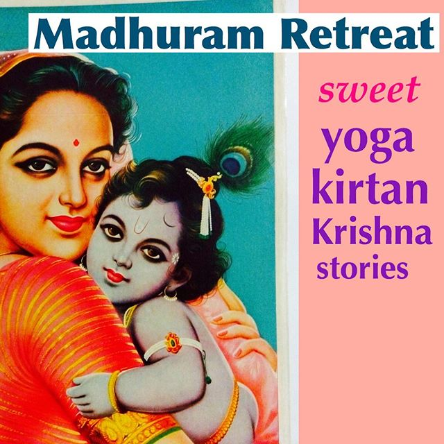 What is better than surrounding your self with sweet spiritually minded people??? ITS ON!!! Again❤️🌷❤️🌷❤️🌷 MADHURAM RETREAT- FRIDAY June 28-Sunday 30th. Study and sing with me and Dhanurdhara Swami & special guests in an intimate setting @supersoulfarm in upstate NY 2.5 hours north of NYC & 2.5 west of Boston! 🌷🌲🌲🌲🌲🌲 we immerse our selves in stories of bhakti.  Learning new Kirtan's and Bhajans & and morning all level yoga classes. Time to chill learn and grow and break away from life and connect with good people on your path. This is our third annual retreat and this year space is EXTREMELY limited with one 1/3 of spaces filled already. Give yourself a gift or gift a space to someone you love and see our oasis we've been creating. Come a stranger and leave as part of our family 💕👊🏻@@@@@@@@@ Contact: Alexandra.moga@gmail.com to hold your spot ASAP! This will sell out.