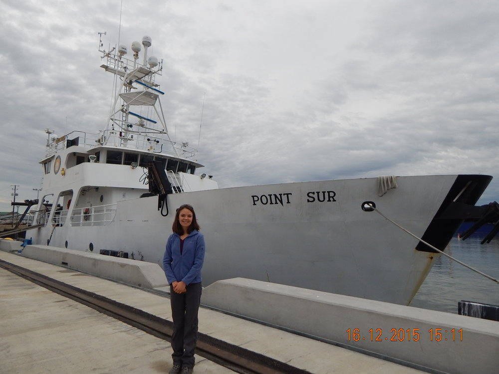 R/V Point Sur.  This vessel is owned by the University of Southern Mississippi and has a cooperative agreement between the University of Southern Mississippi and the Louisiana Universities Marine Consortium.