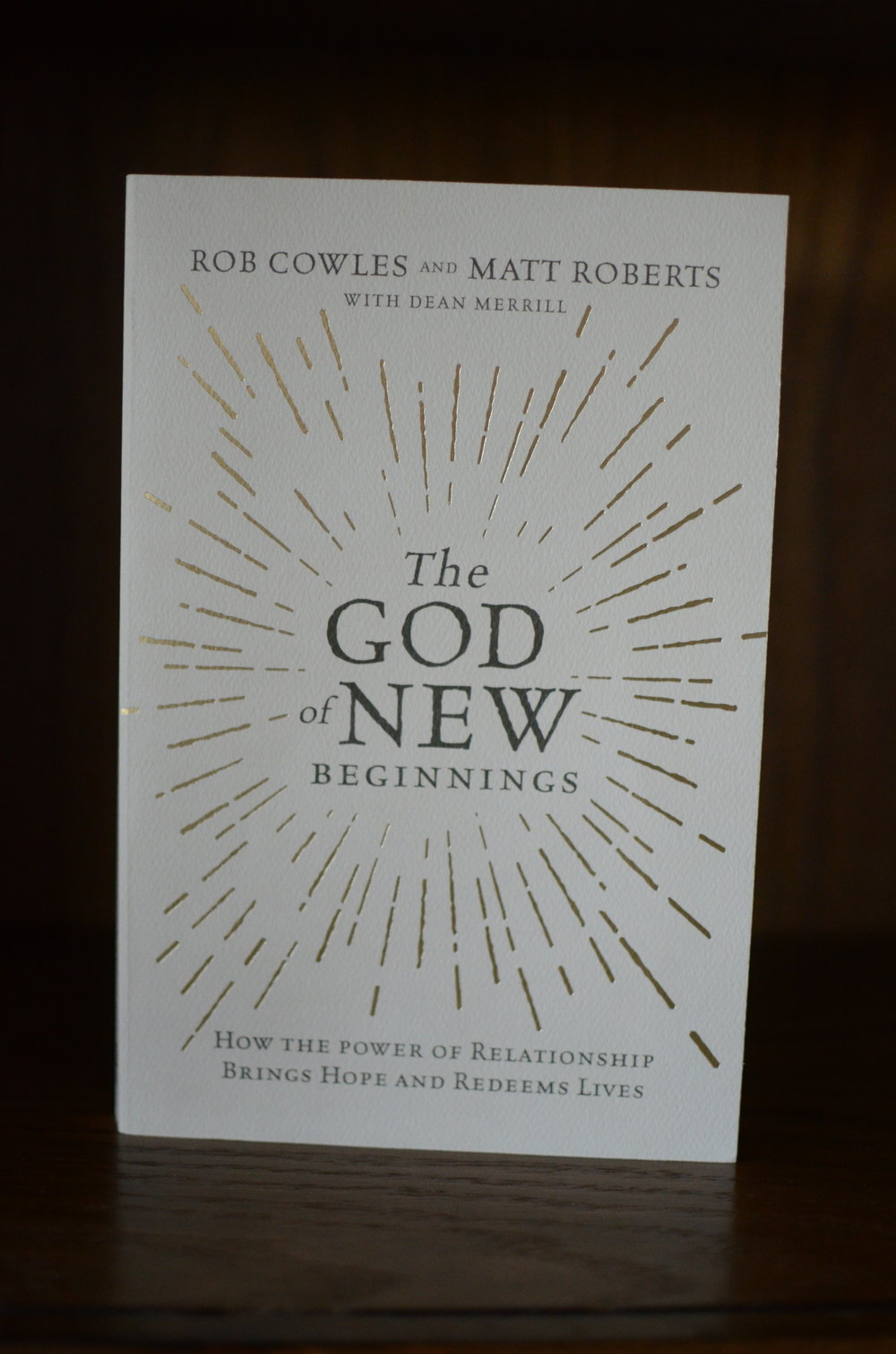 The God of New Beginnings Cover