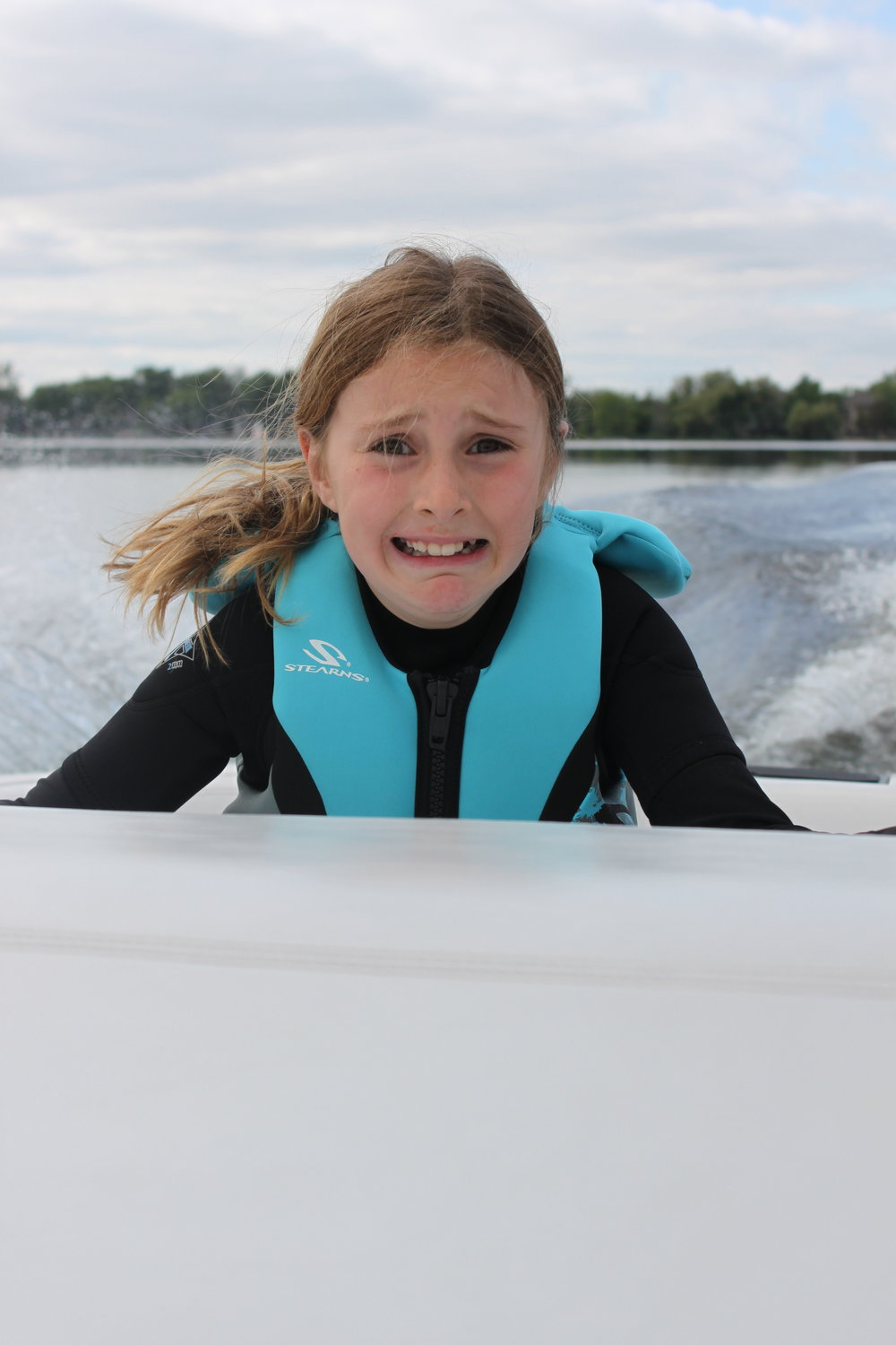 Girl Water Skiing.JPG