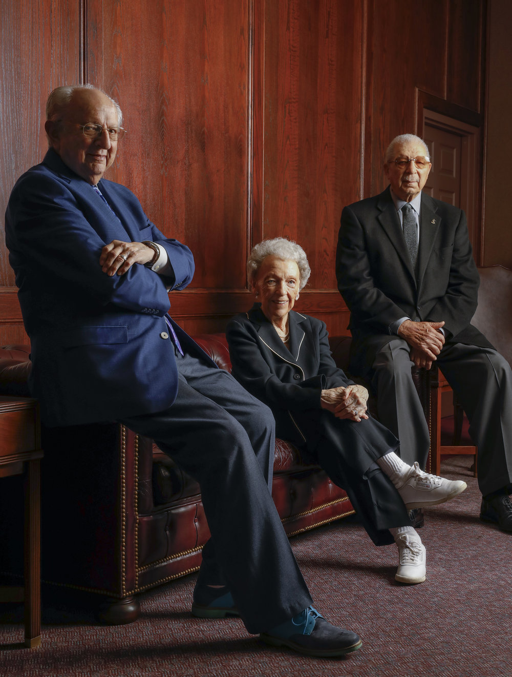 HONORARY CAMPAIGN MEMBERS - Former Parks Commissioners Mr. Carl DiCapo, Mrs. Anita Gorman, and Mr. Ollie Gates join the Honorary Campaign Chairs to support the Kansas City Museum.From 1986 to 1991, Mrs. Gorman, Mr. Gates, and Mr. DiCapo served together as Kansas City Parks Commissioners. This legendary trio was responsible for the revitalization of Starlight Theatre, the Kansas City Zoo, and the National World War I Museum and Memorial.Now they aim to lend their wisdom and experience to another major Kansas City cultural and civic treasure.