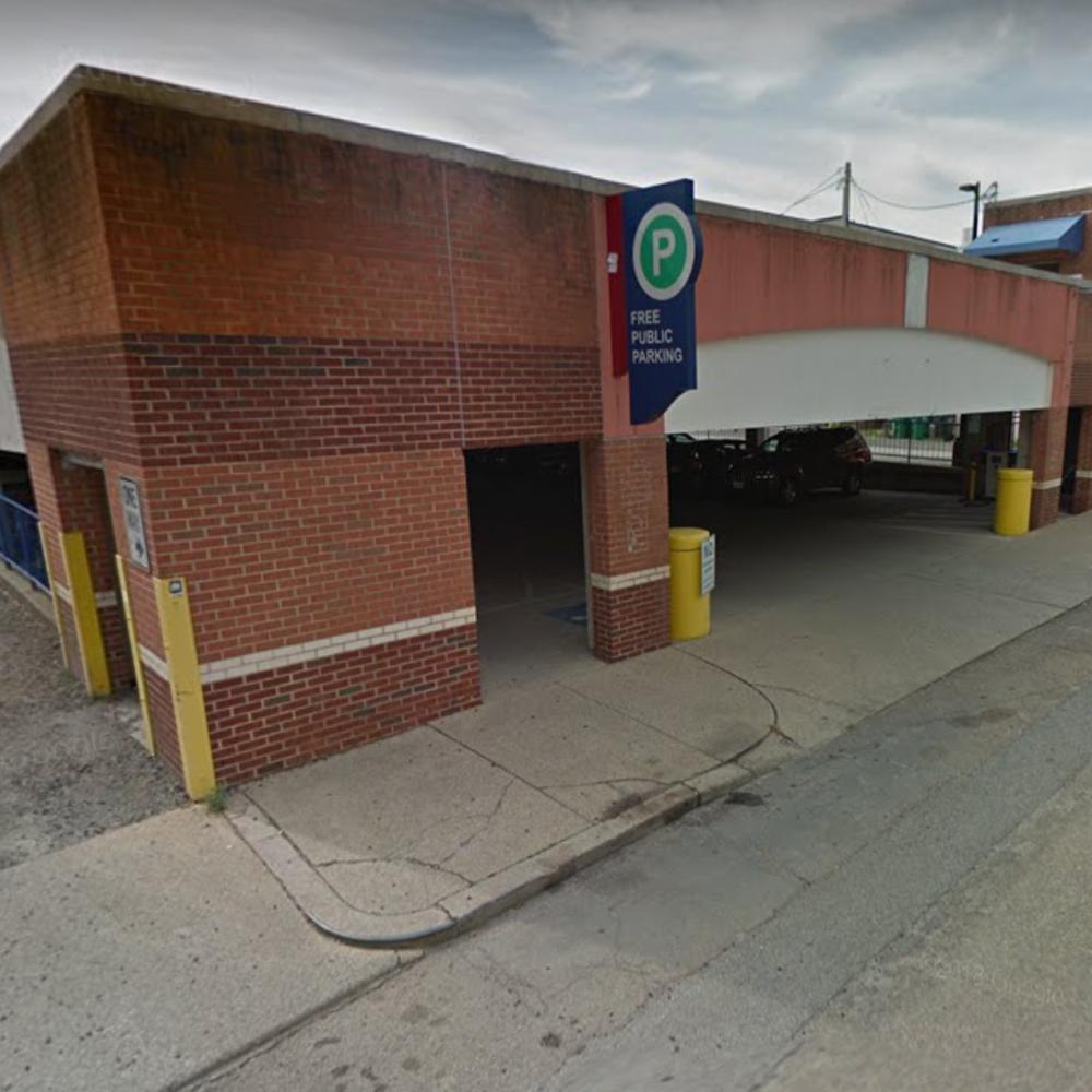 Public Garage at 7 S. Crenshaw Ave