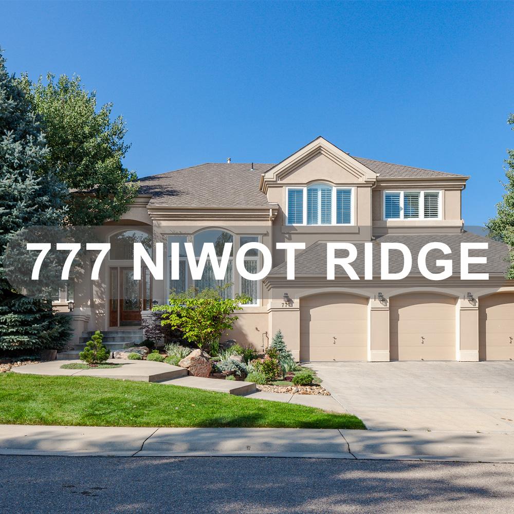 777 Niwot Ridge Lane