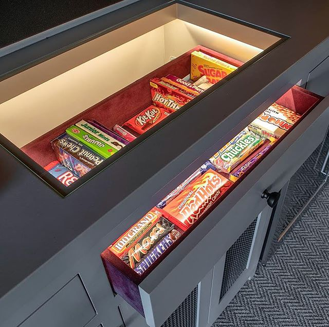 because who doesn't love snacks? and such well lit snacks at that! #powellelectricinc #snackattack