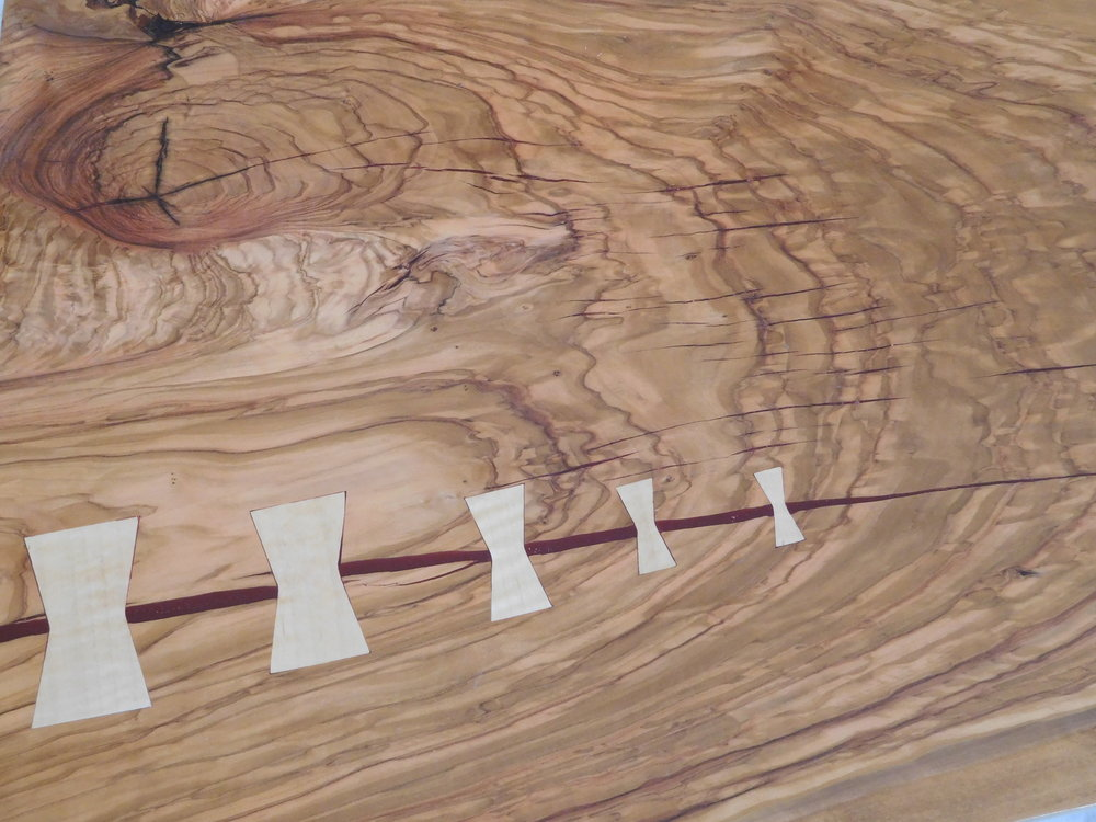 Olivewood detail