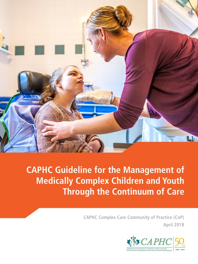 Guideline for the Management of Children and Youth with Medical Complexity through the Continuum of Care -