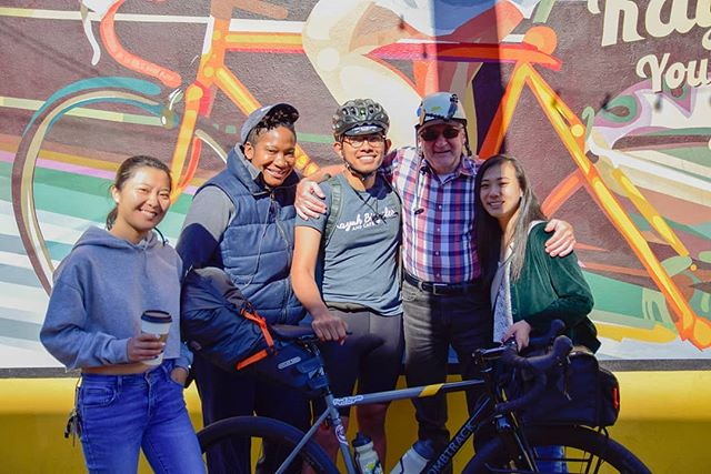 Yesterday, Izzat left Kayuh to embark on a long journey to (potentially) the West coast! Do send wishes his way. Safe travels partner! #kayuhbicycles #kayuhcafe #kayuhcrew #stackacracka