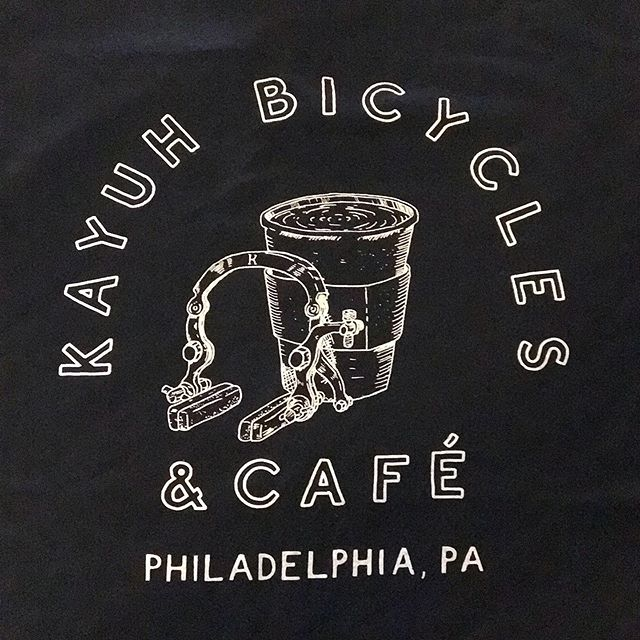 NEW SHIRTS! 😱 Come by Kayuh and grab one. But hurry, while all sizes are available. Prices start at $12.  #kayuhbicyclesandcafe #kayuhbicycles
