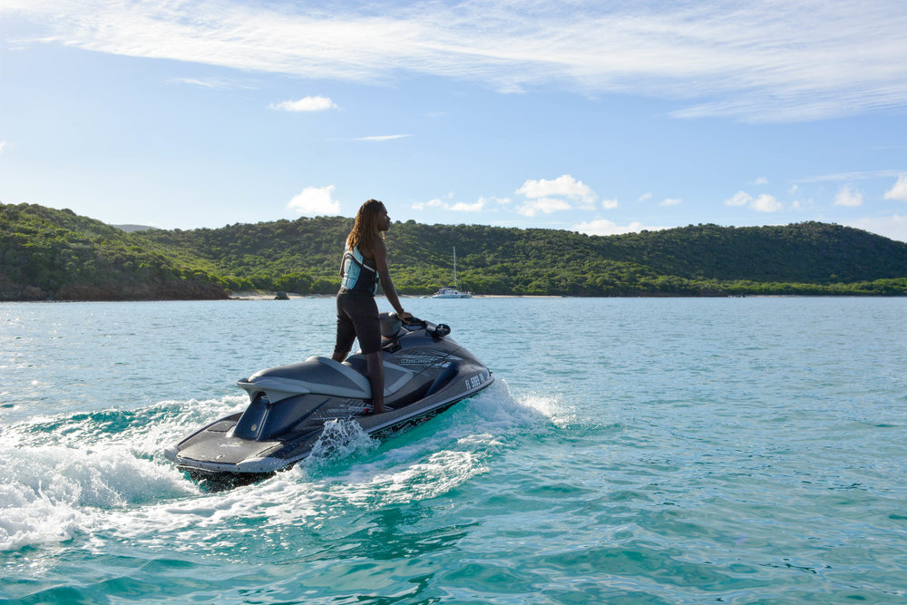 "Blue Rush waterSports - ""Trevor and Josh provide an excellent service for our yacht charter guests on the Viking Dream, whether you want to jet ski, or try jet boots they'll take care of you every time! Great location, great service, great people!"" . TripAdvisor"