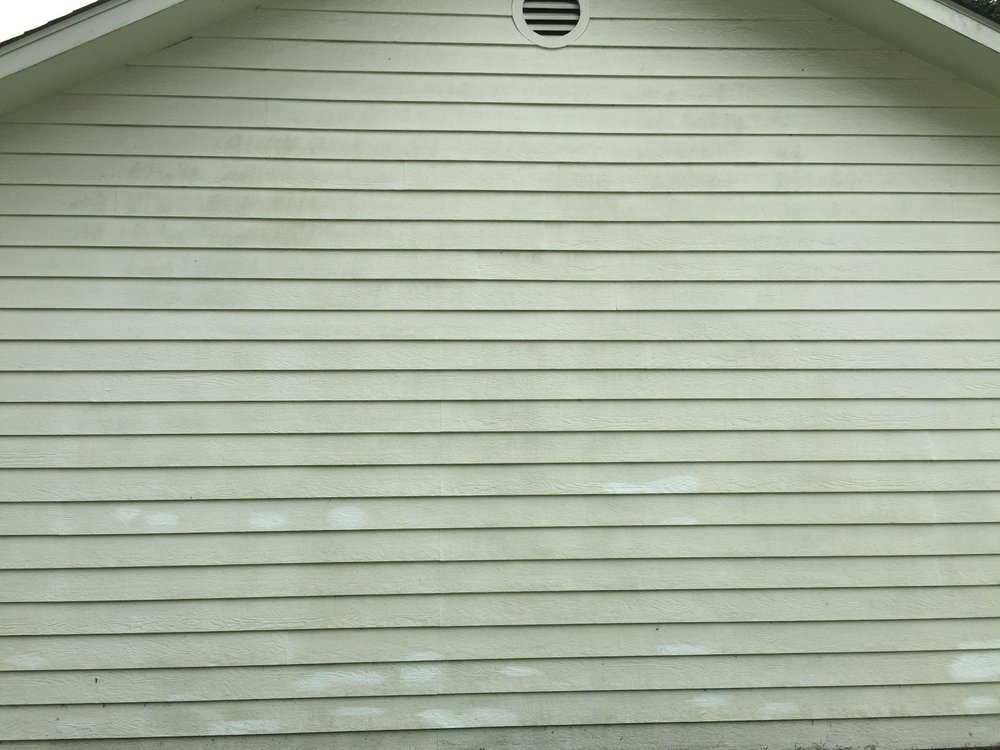 Before Siding Washing -