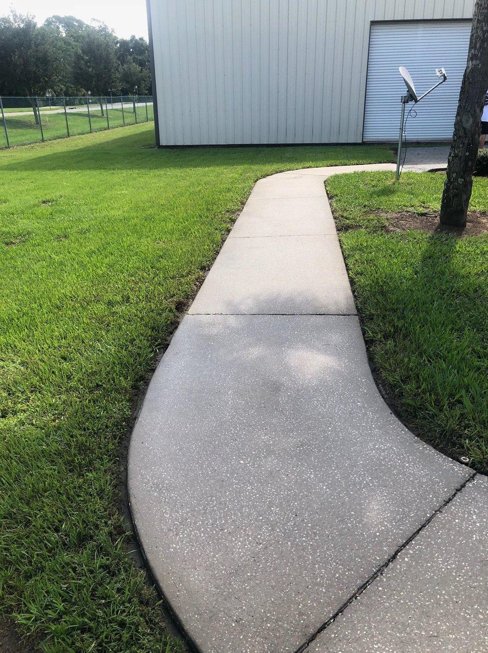 Clean Sidewalks -