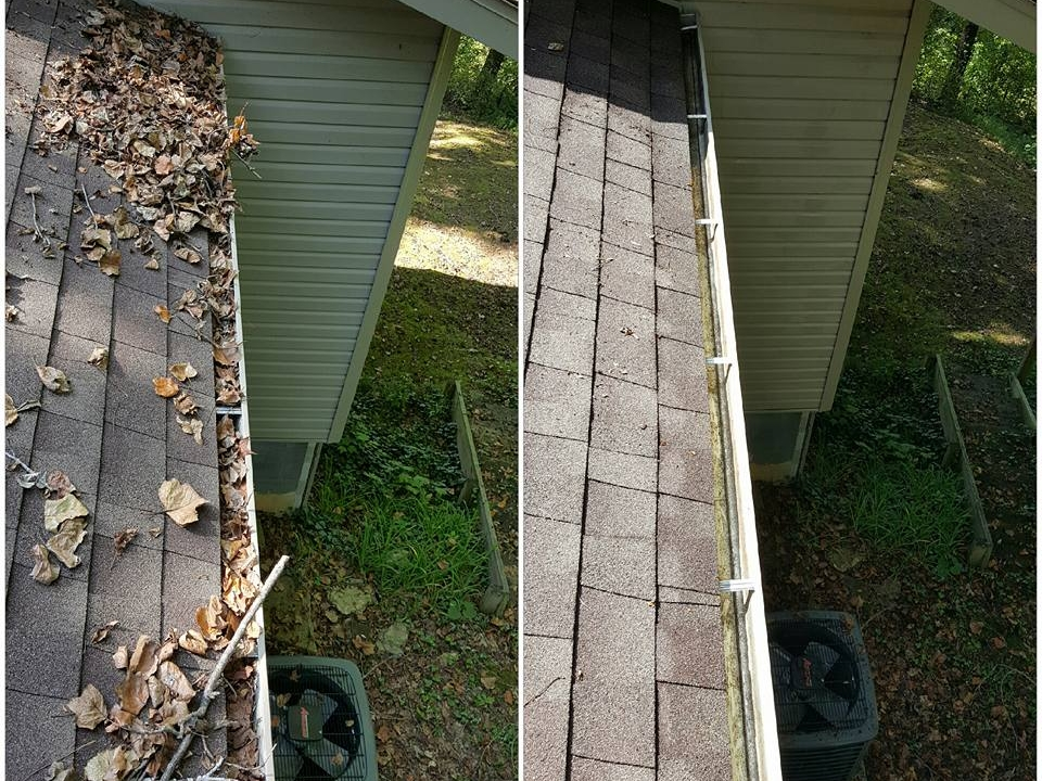 Gutter Cleaning in St Simons Island -