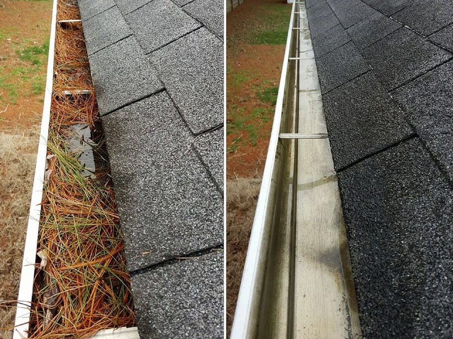 Waycross Gutter Cleaning -