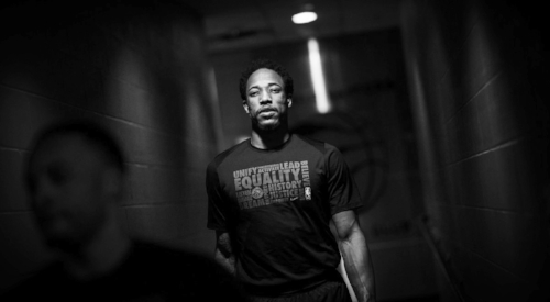 DeMar DeRozan, Kevin Love, Kelly Oubre, and Kevin Durant are a few putting faces on mental health.