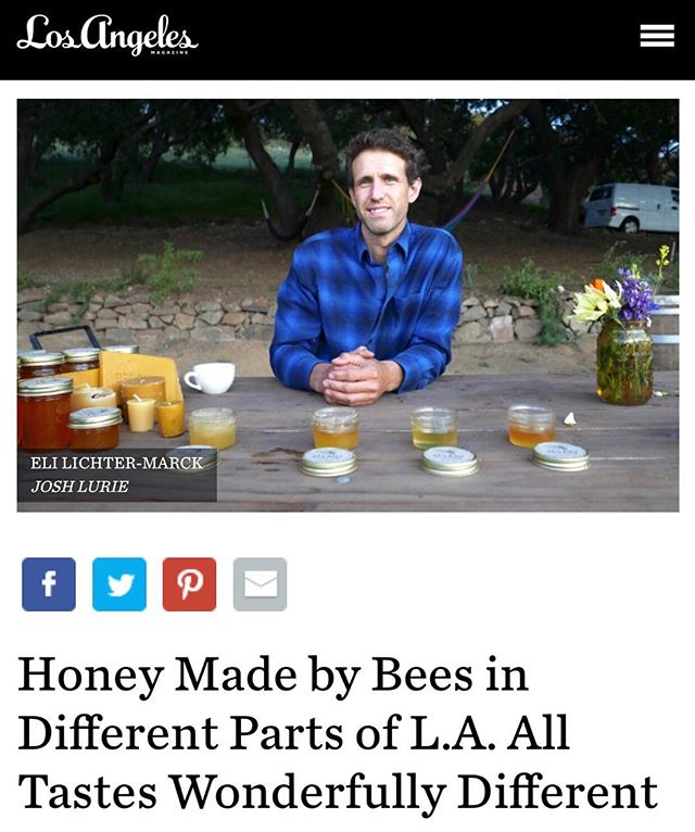 I'm very proud to present this short interview in the current LA Magazine. Link in bio.