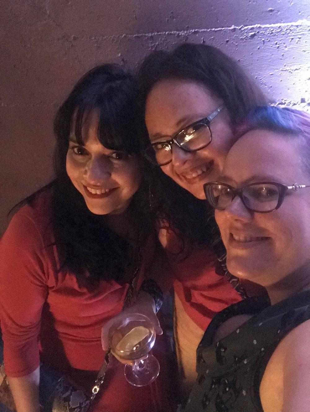 Gabriela Damián, Libia Brenda, and Julia Rios