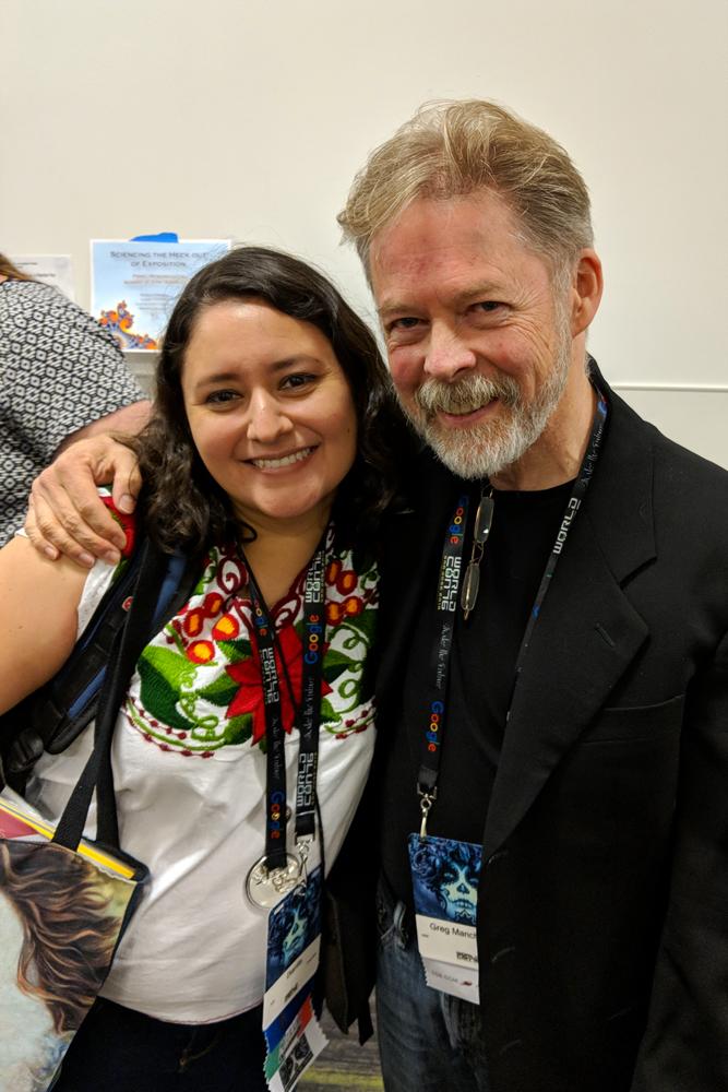 Dianita Cerón and Greg Manchess