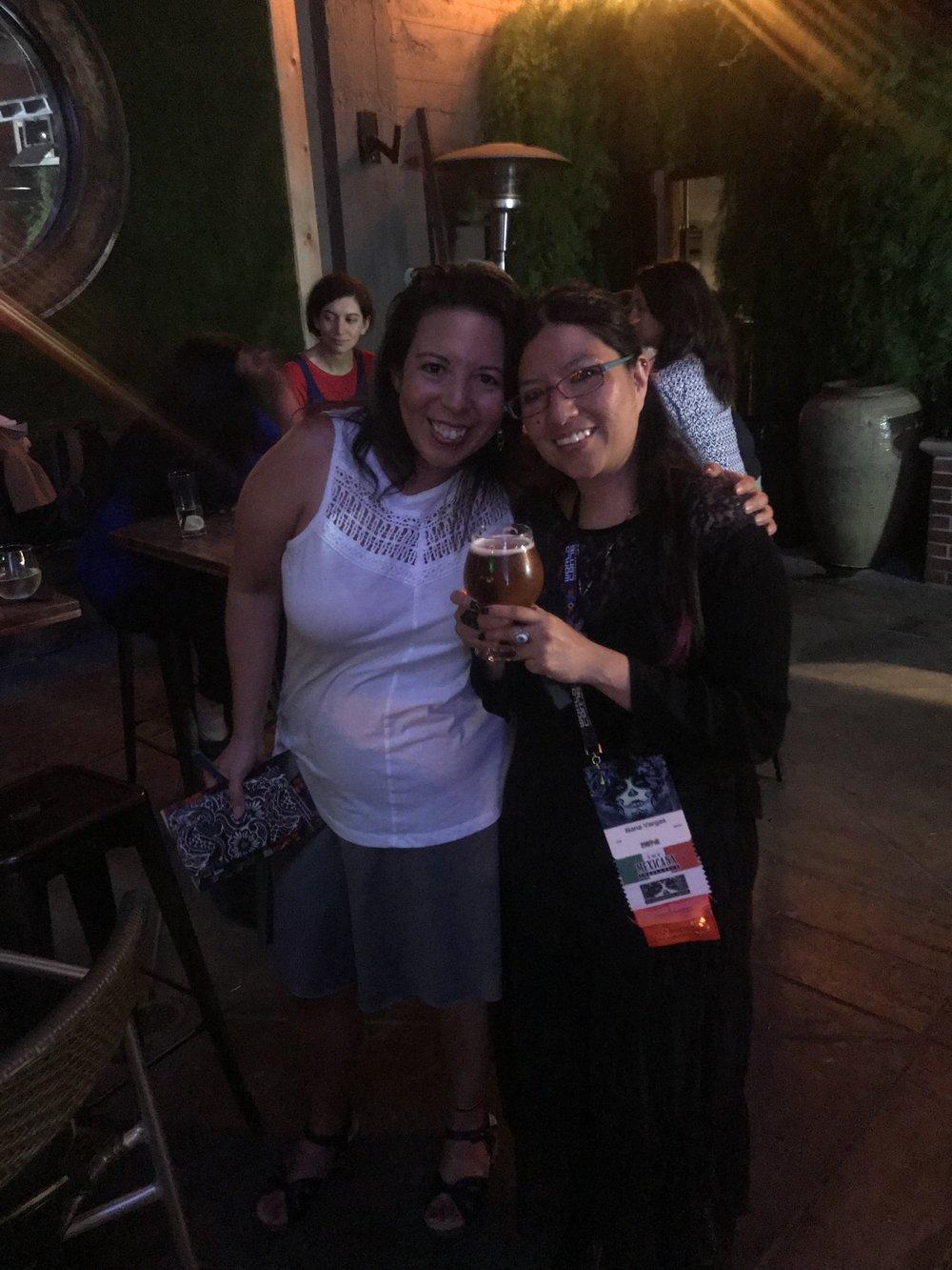 Felecia Caton Garcia and Iliana Vargas (Photo by Julia Rios)