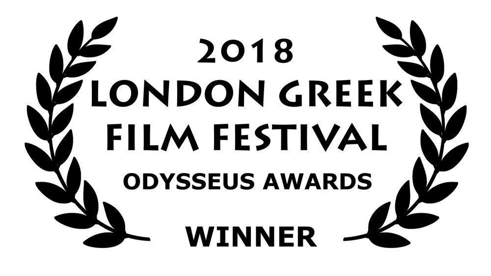 Winner - Best Feature Fiction Script 2018 London Greek Film Festival