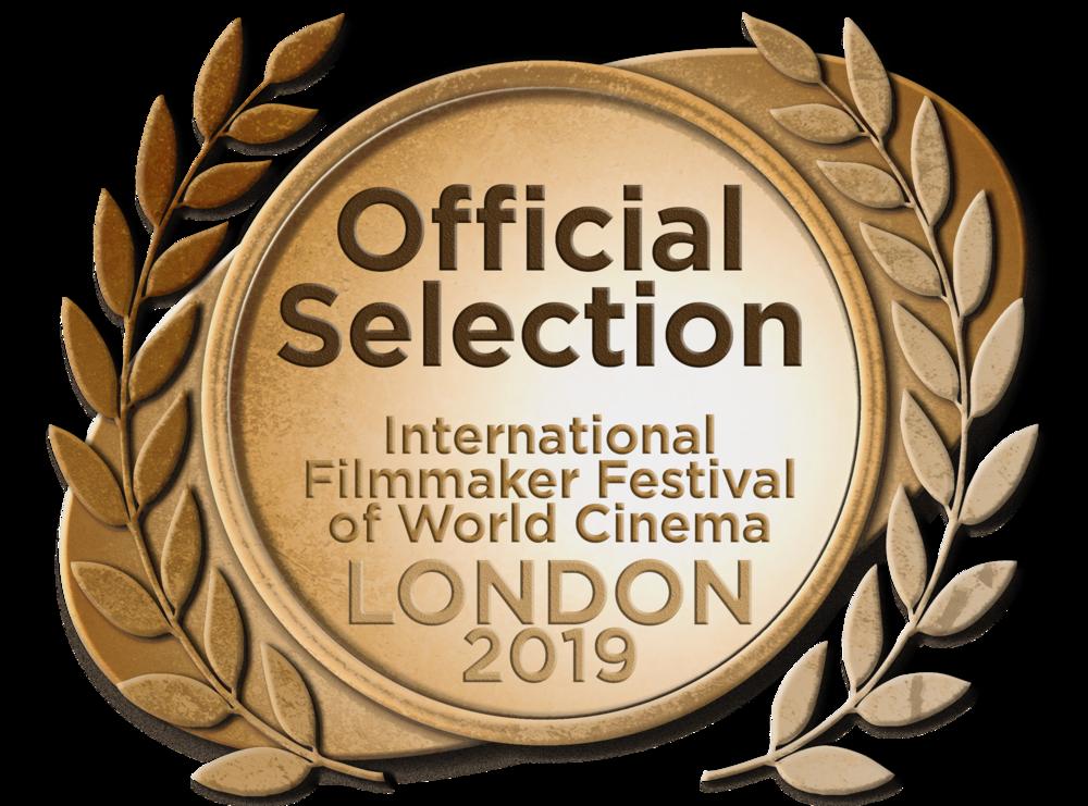 Official Selection - International Filmmaker Awards, London for Best Unproduced Script