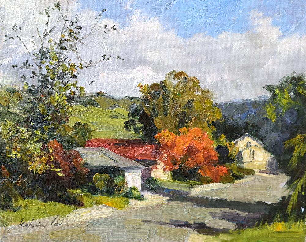 Fall in the Suburbs