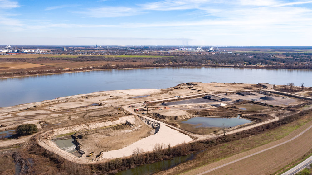 UAV Construction Site Inspection New Orleans Foley Aerial Services