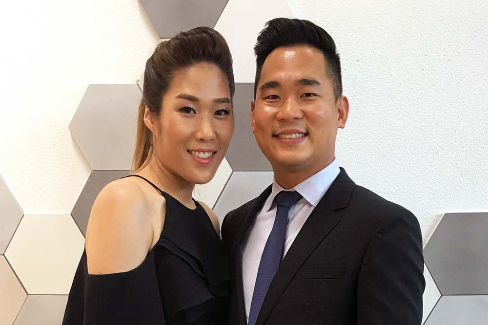 Claudio and Lauren Suh
