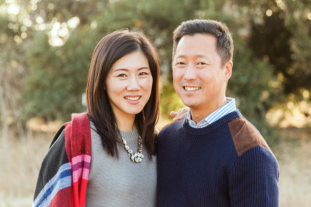 Lawrence and Linda Kim