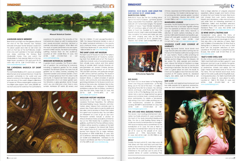 Client: TRAVELHOST Inc. Skills/ My Role: Magazine Design and Publishing. Typography.