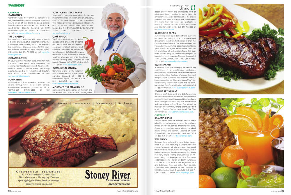 TRAVELSHOST of Greater St. Louis Magazine