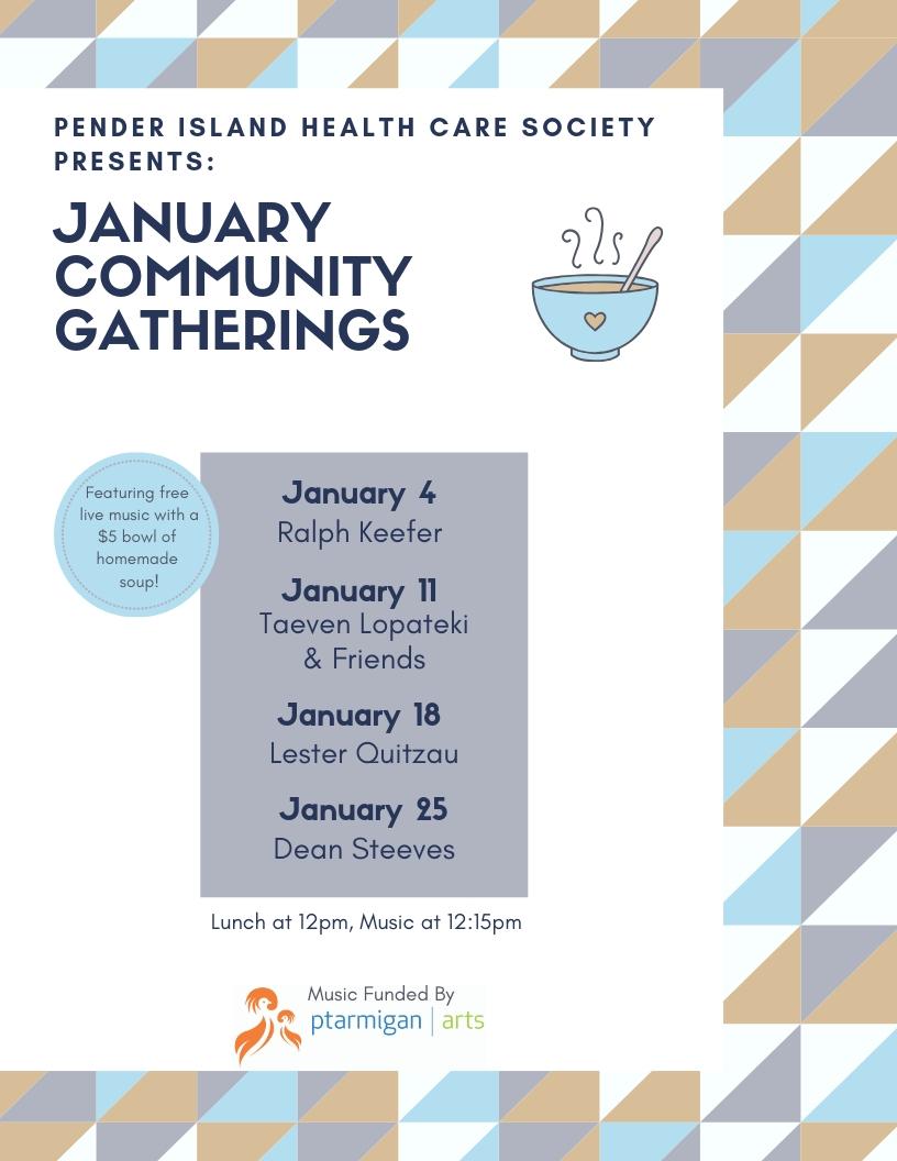 January Community Gatherings