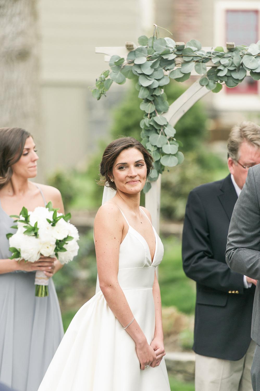 bride at wedding ceremony_lace factory outdoor wedding_lace factory outdoor wedding ceremony