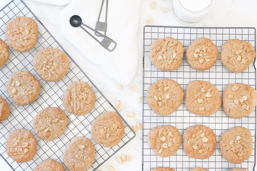 - Prep time - 20 minBake time - 10 min x 4 batchesTotal time - 60 minServing Size - 48 cookies