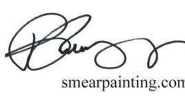 Smear Painting | Rob Redding Art