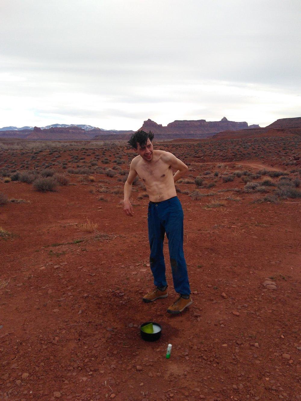 Desert Shower