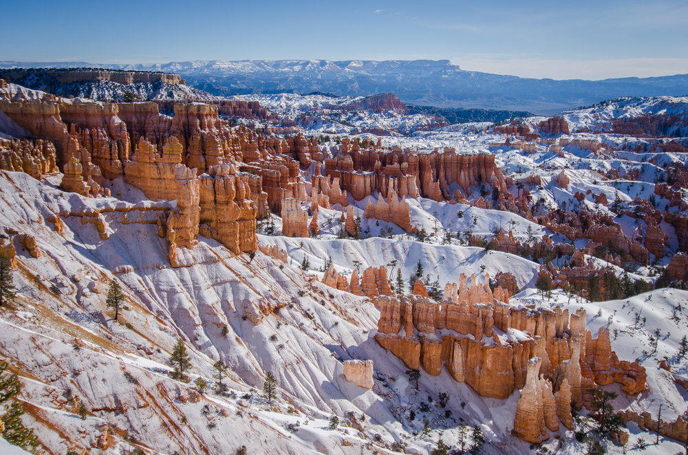 The Hoodos in Bryce Canyon