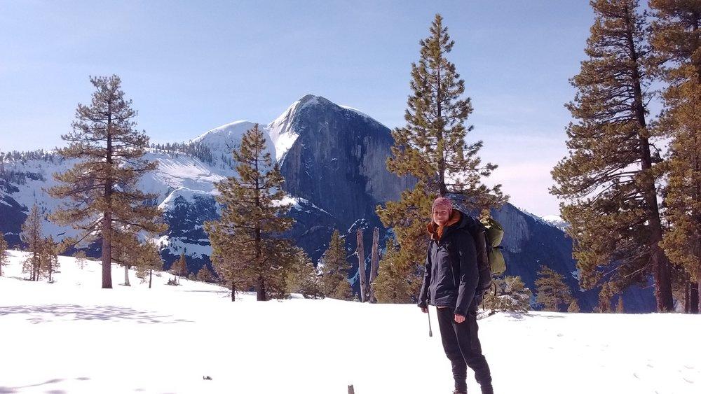 Cold wintery Yosemite