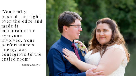 Carlie and Kyle Wedding Testimonial