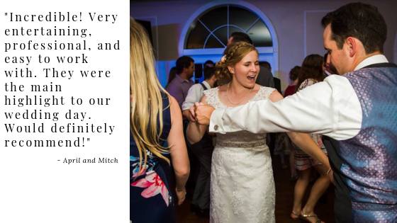 April and Mitch Wedding Testimonial